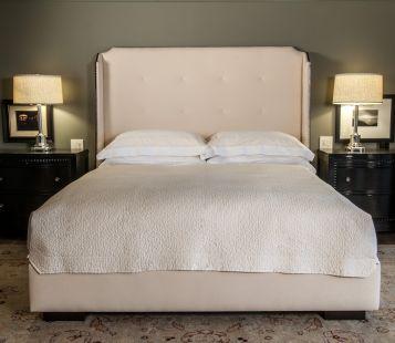 Nightstands beds harlow bed poet furniture for Harlowe bed